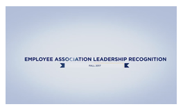 Employee Association Leadership Recognition