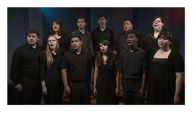 ACC Vocal Jazz Ensemble - And So It Goes