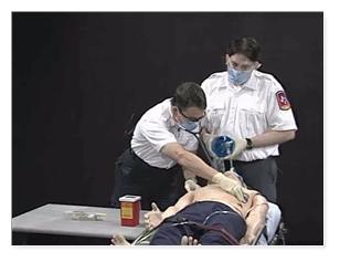 EMS - Endotracheal Drug Administration with a Prefilled Syringe