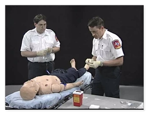 EMS - IV Therapy with Fluid