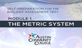 Biology Review Module 1: The Metric System