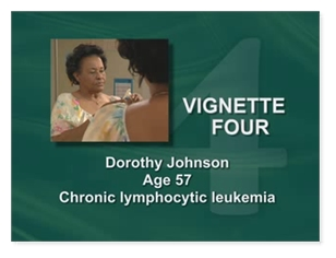 Dorothy Johnson, Age 57 Chronic Lymphocytic Leukemias