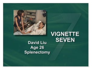 David Liu Age 26 Splenectomy