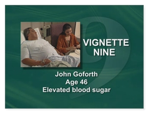 John Goforth Age 46 Elevated Blood Sugar